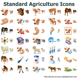 Agriculture clipart icon. Standard icons free images