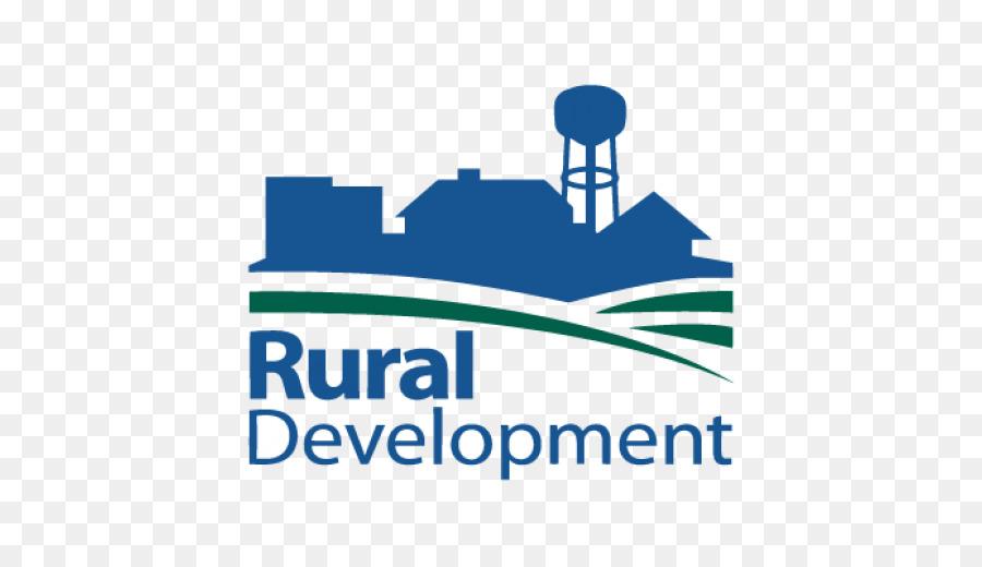 Agriculture clipart rural development. Home logo blue text