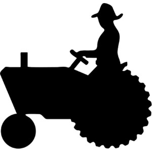 Farmer at getdrawings com. Agriculture clipart silhouette