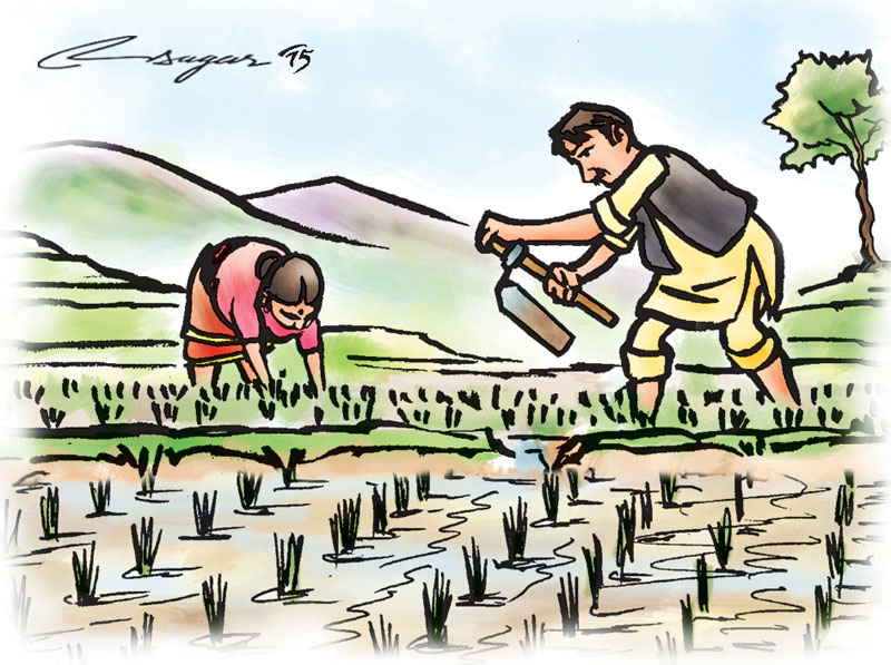 Food security the himalayan. Agriculture clipart subsistence agriculture