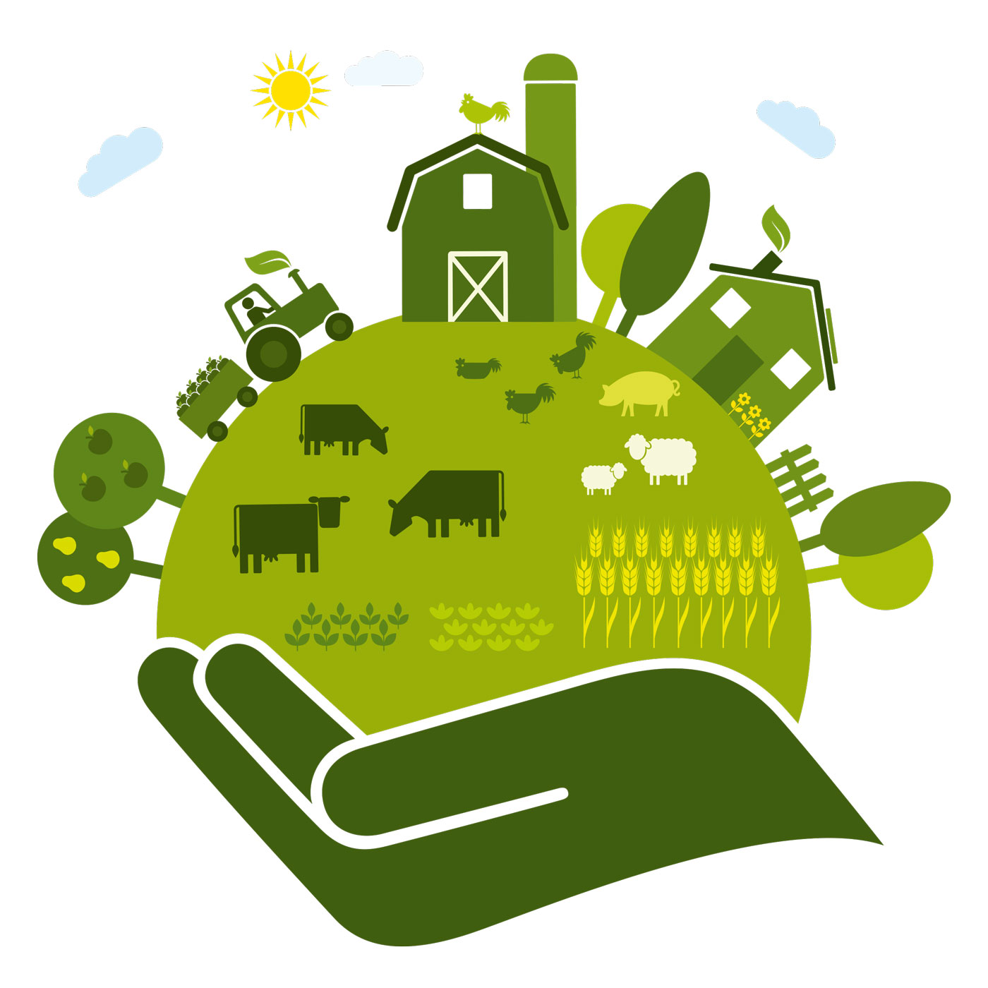 Food for thought the. Agriculture clipart sustainable agriculture