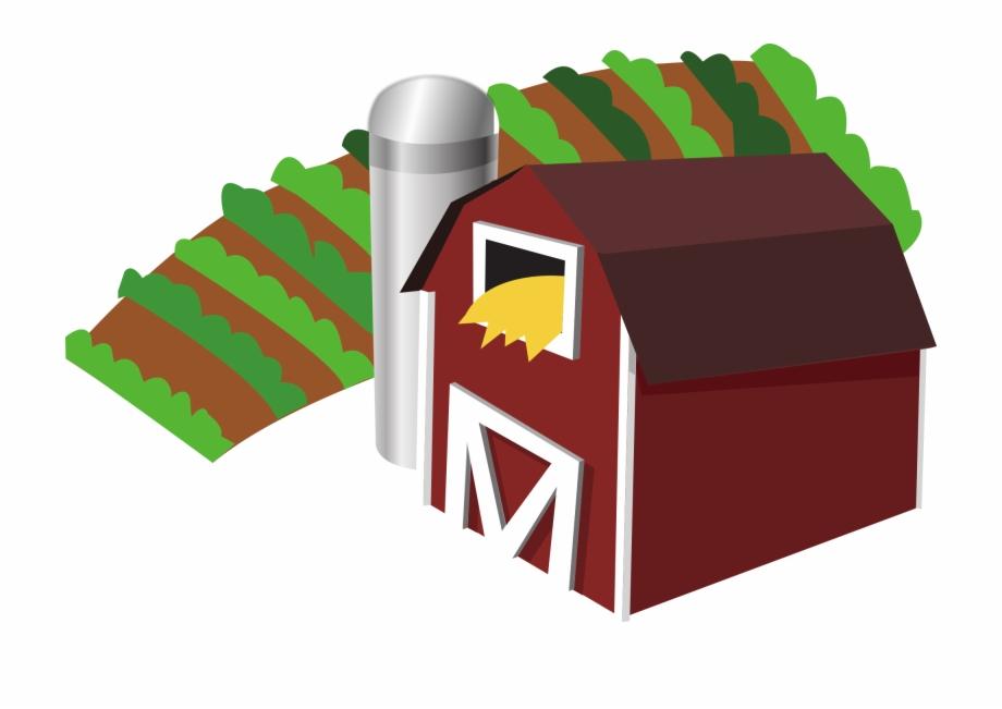 File barn with clip. Farmhouse clipart farm land