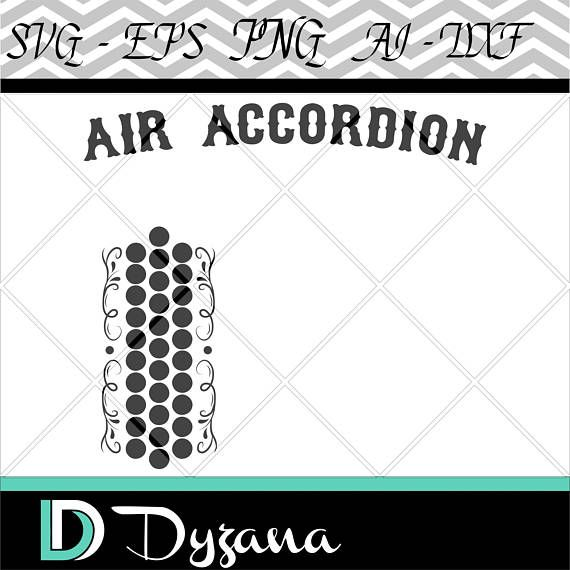 Air clipart accordion. Silhouette svg files for