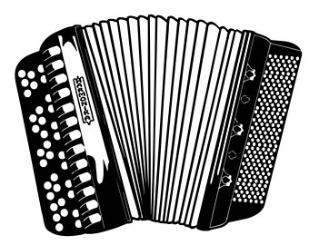 Music etsy musical instrument. Air clipart accordion