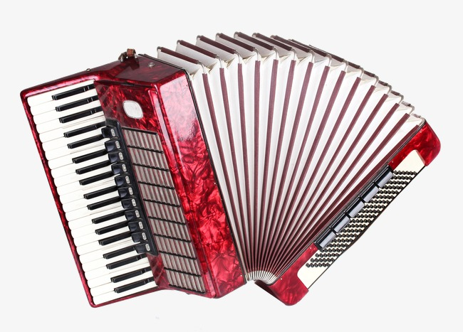Musical instruments hand lyre. Air clipart accordion