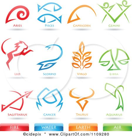 Air clipart air element. Tattoo astrology star signs