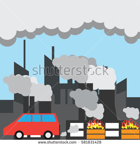 Air clipart air pollution. Poster on station