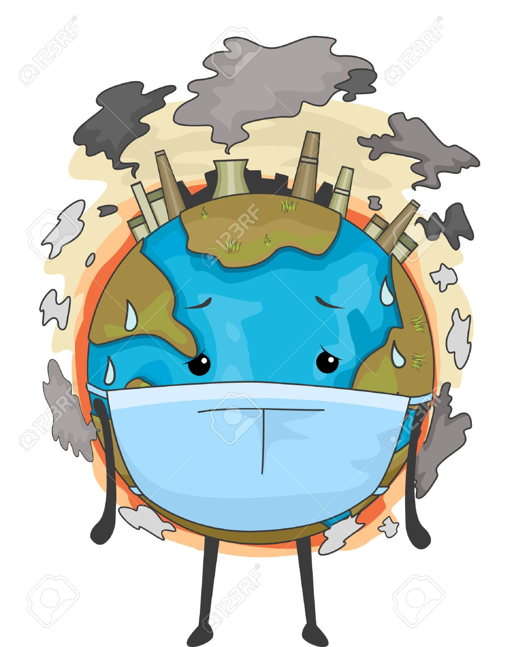 Air simple drawing png. Pollution clipart