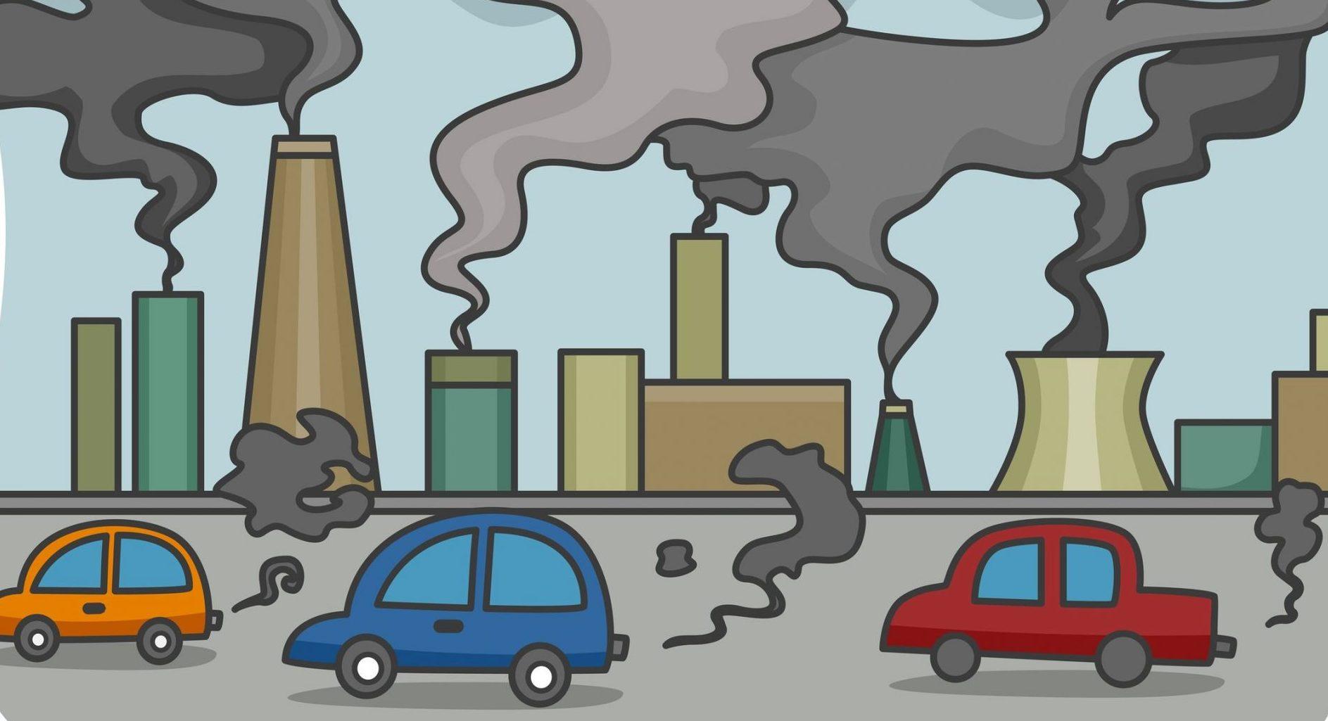 Air clipart air pollution. Station