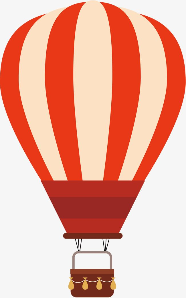 Air clipart aire. Red stripe globo aerost