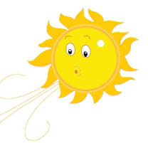 Air clipart animated. Weather gifs sun blowing