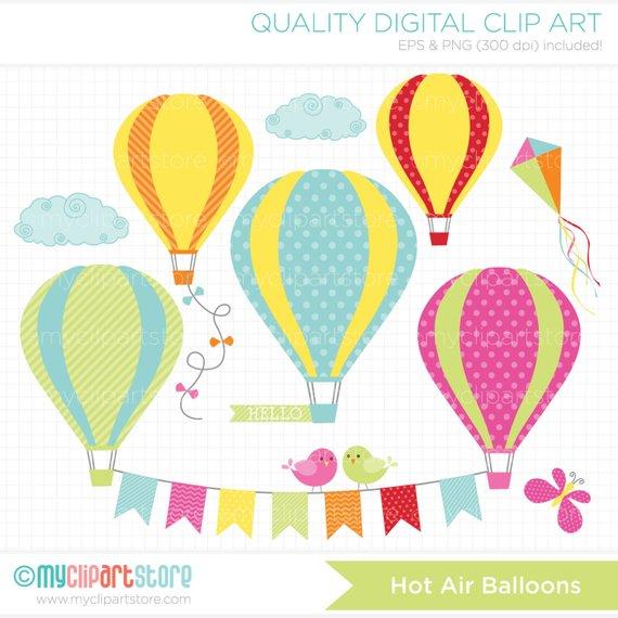 Hot balloons summer sb. Air clipart breeze