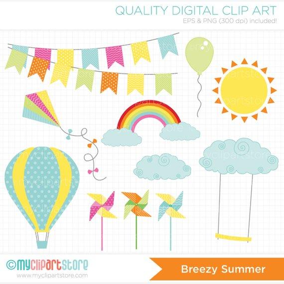 Air clipart breeze. Breezy summer sb hot