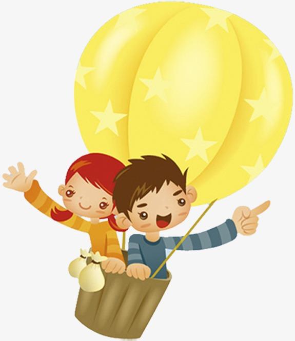 Hot balloon ride for. Air clipart cartoon