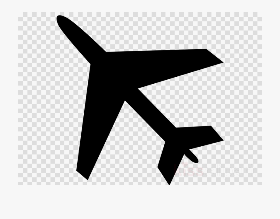 Plane moon and stars. Air clipart clear background
