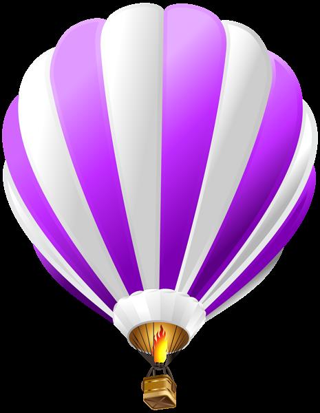 Air clipart clear background. Hot balloon purple transparent