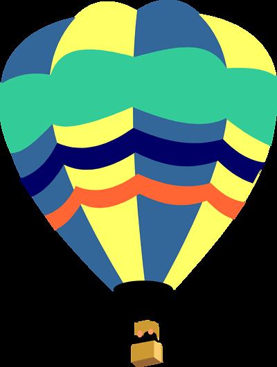 Air clipart clip art. Hot balloon outline panda