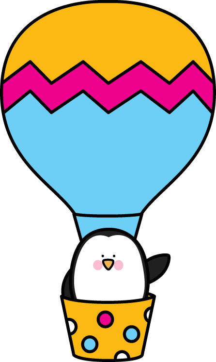 Balloon clipart cute. Hot air clip art