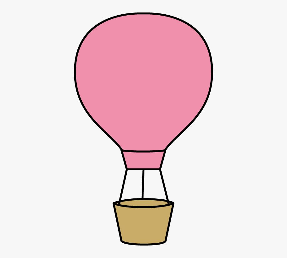 Air clipart clip art. Pink hot balloon balloons