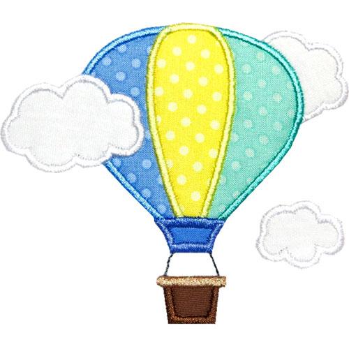 Air clipart cloud. Hot balloon clouds panda