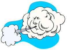 . Air clipart cold air