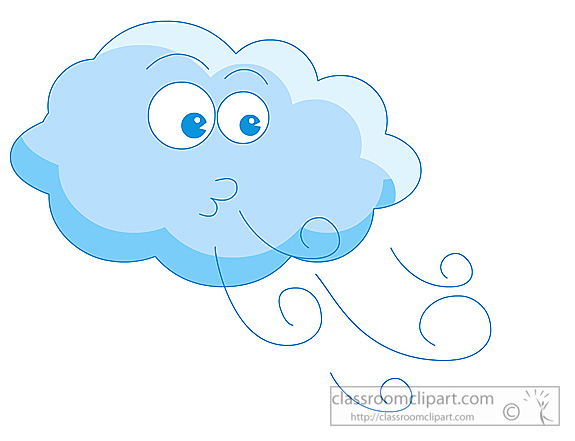 Air cloud clipground blow. Windy clipart blew