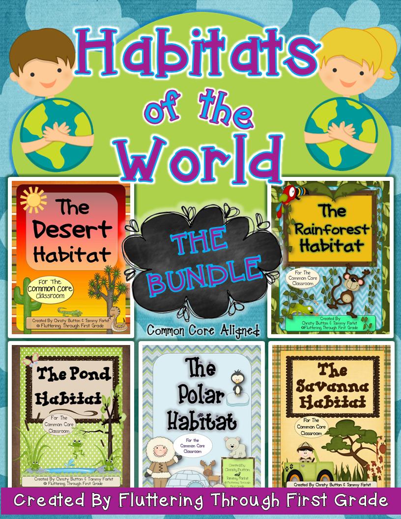 Habitats of the world. Air clipart habitat
