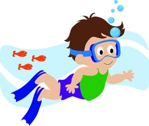 Berries clipart kid. Boy swimmer free deby