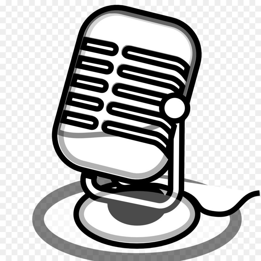 Black and white clip. Air clipart microphone