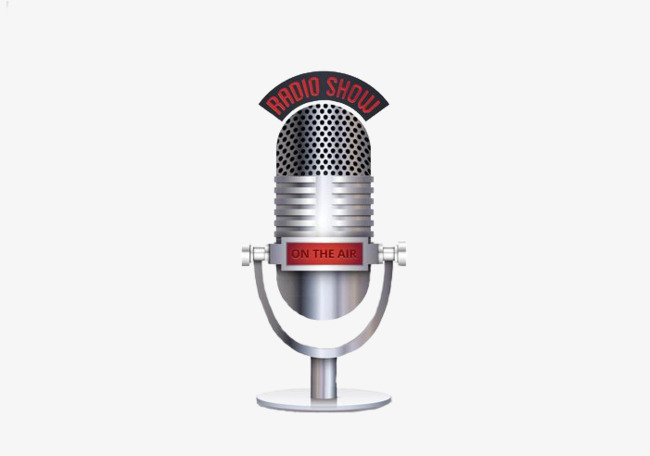 Singing with the silver. Air clipart microphone