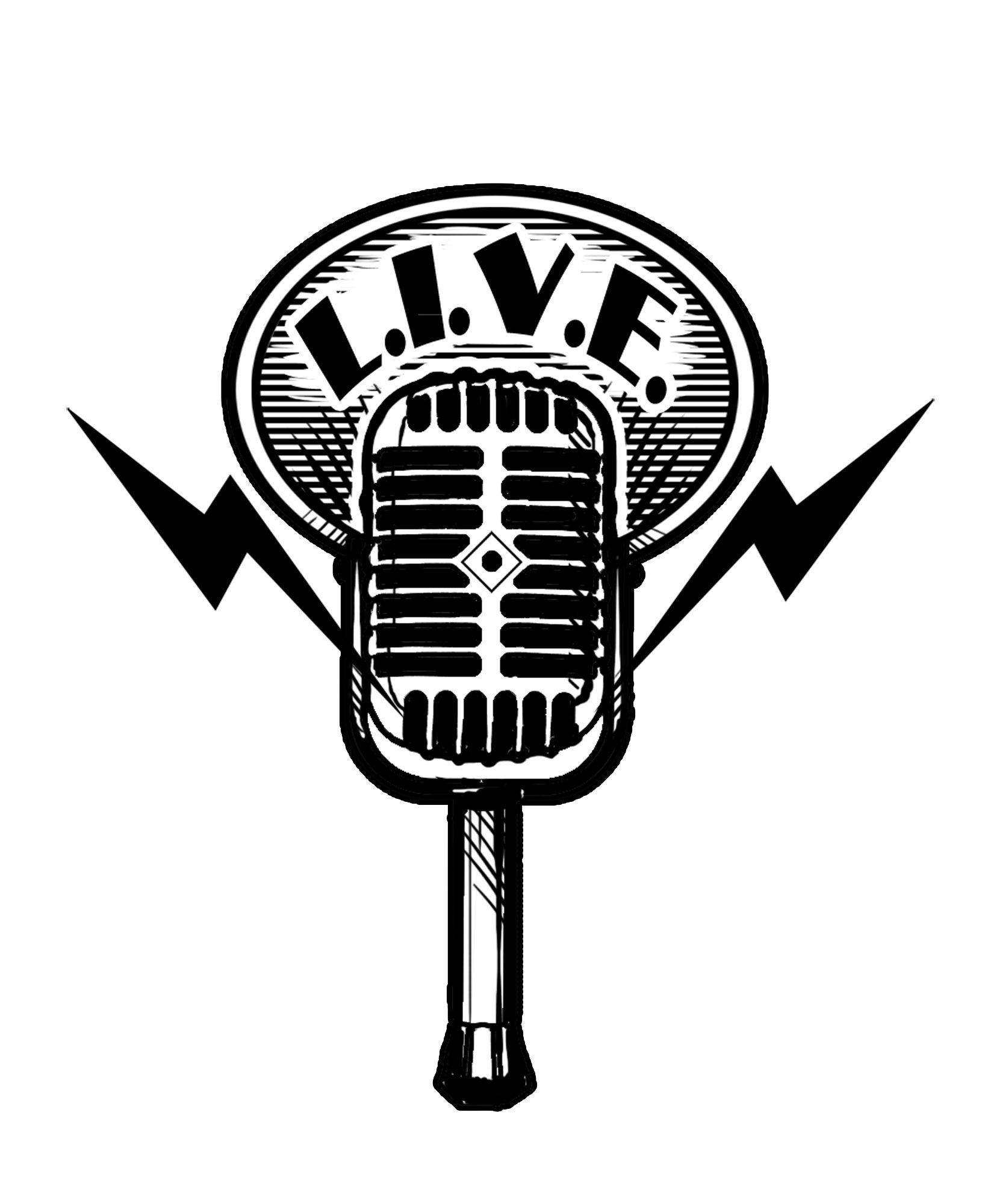 Show logo png microphone. Air clipart radio mic