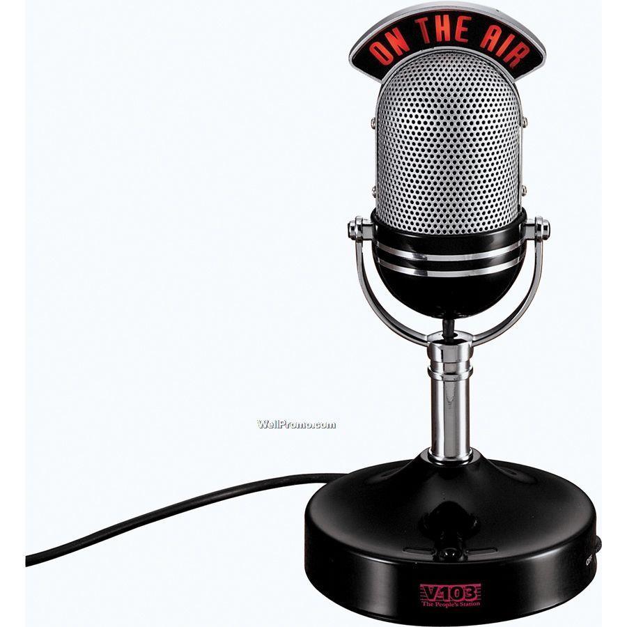 Air clipart radio mic. Microphone on the panda