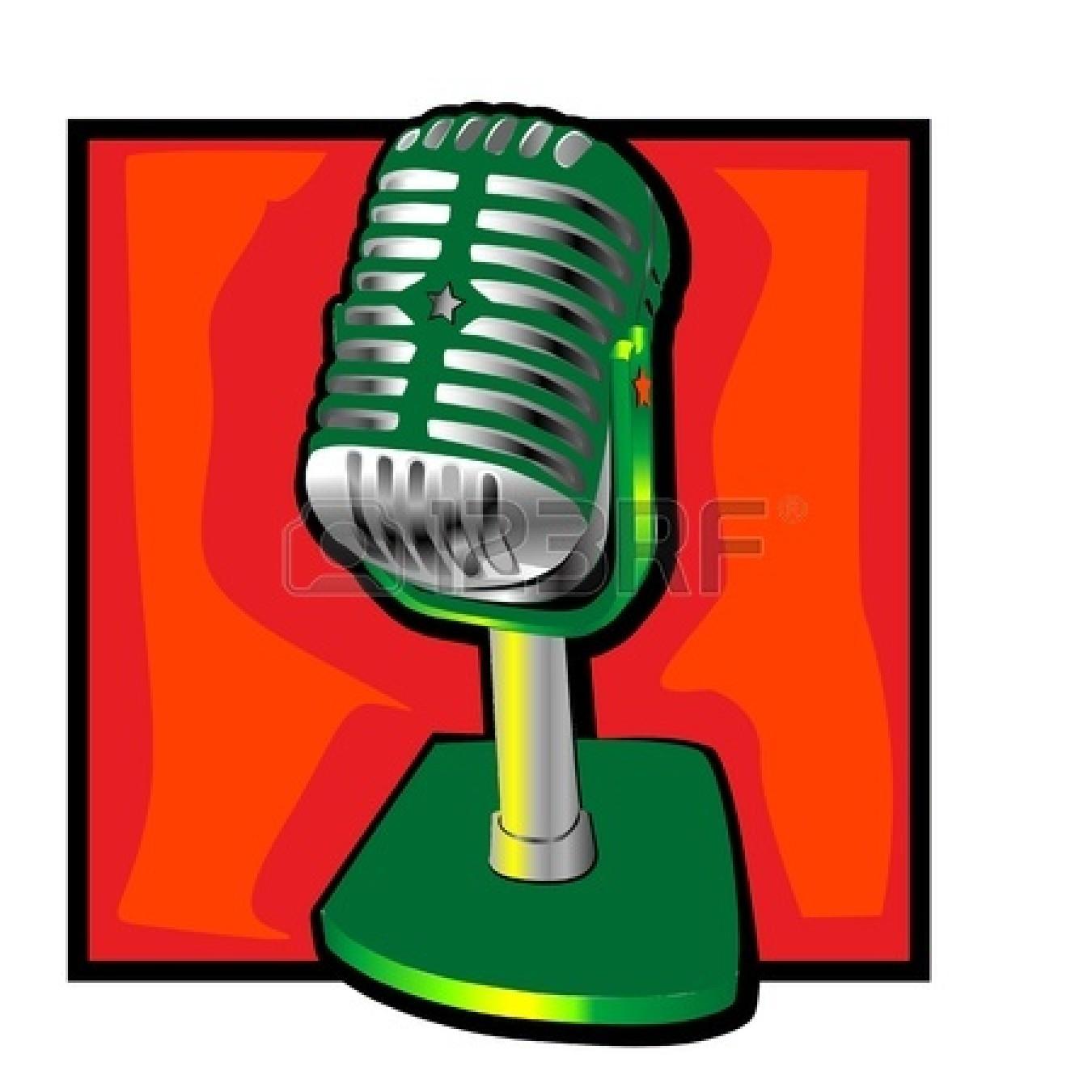Air clipart radio microphone. On the panda free