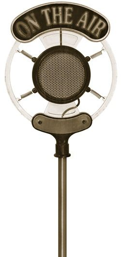 Old jpg odeh vision. Air clipart radio microphone
