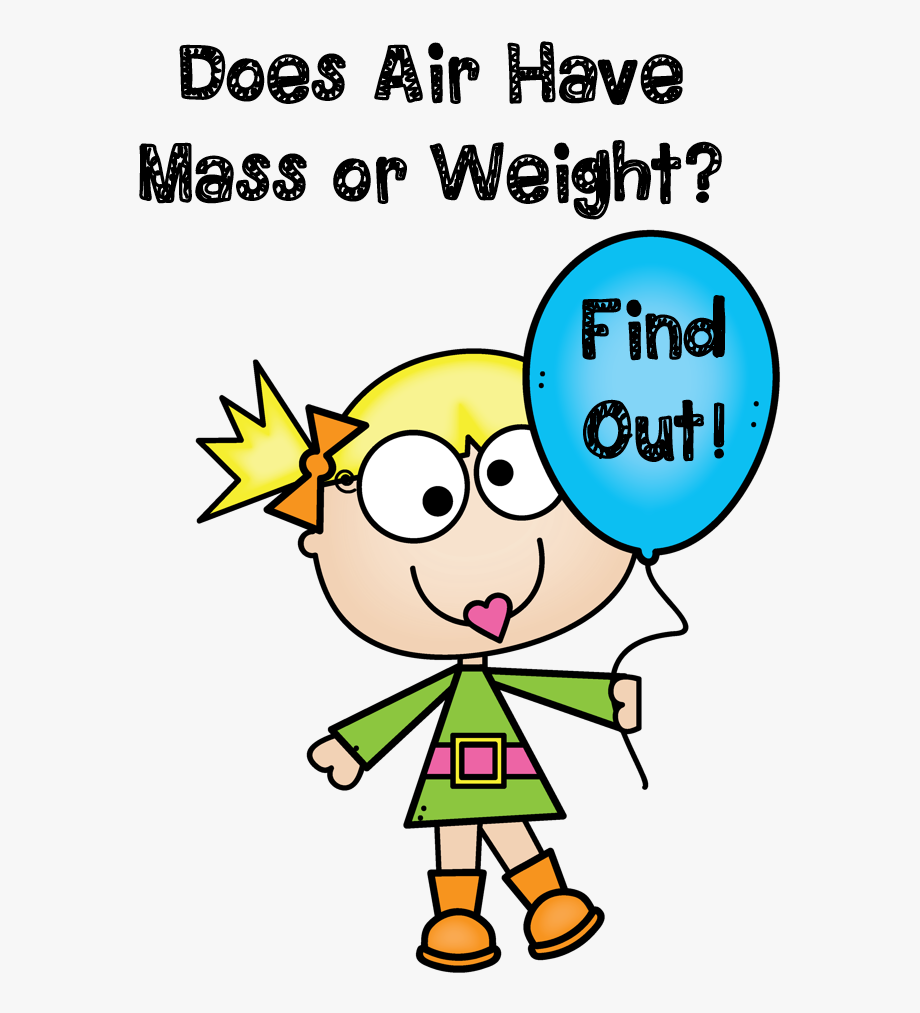 Air clipart science. Weights has mass free