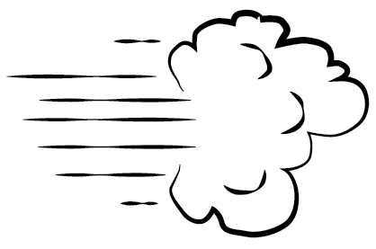 Air clipart strong wind.  clipartlook