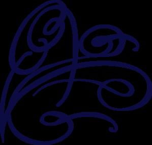 Blue decorative clip art. Air clipart swirl