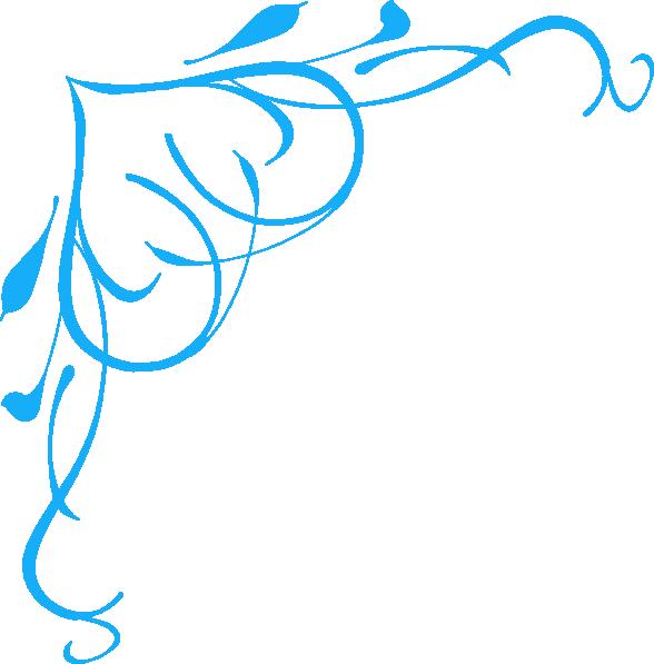 Blue heart clip art. Air clipart swirl