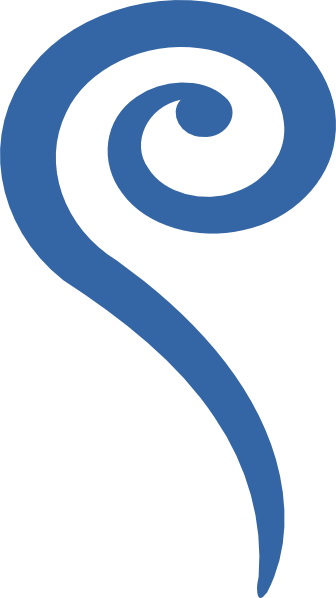 Big blue clip art. Air clipart swirl