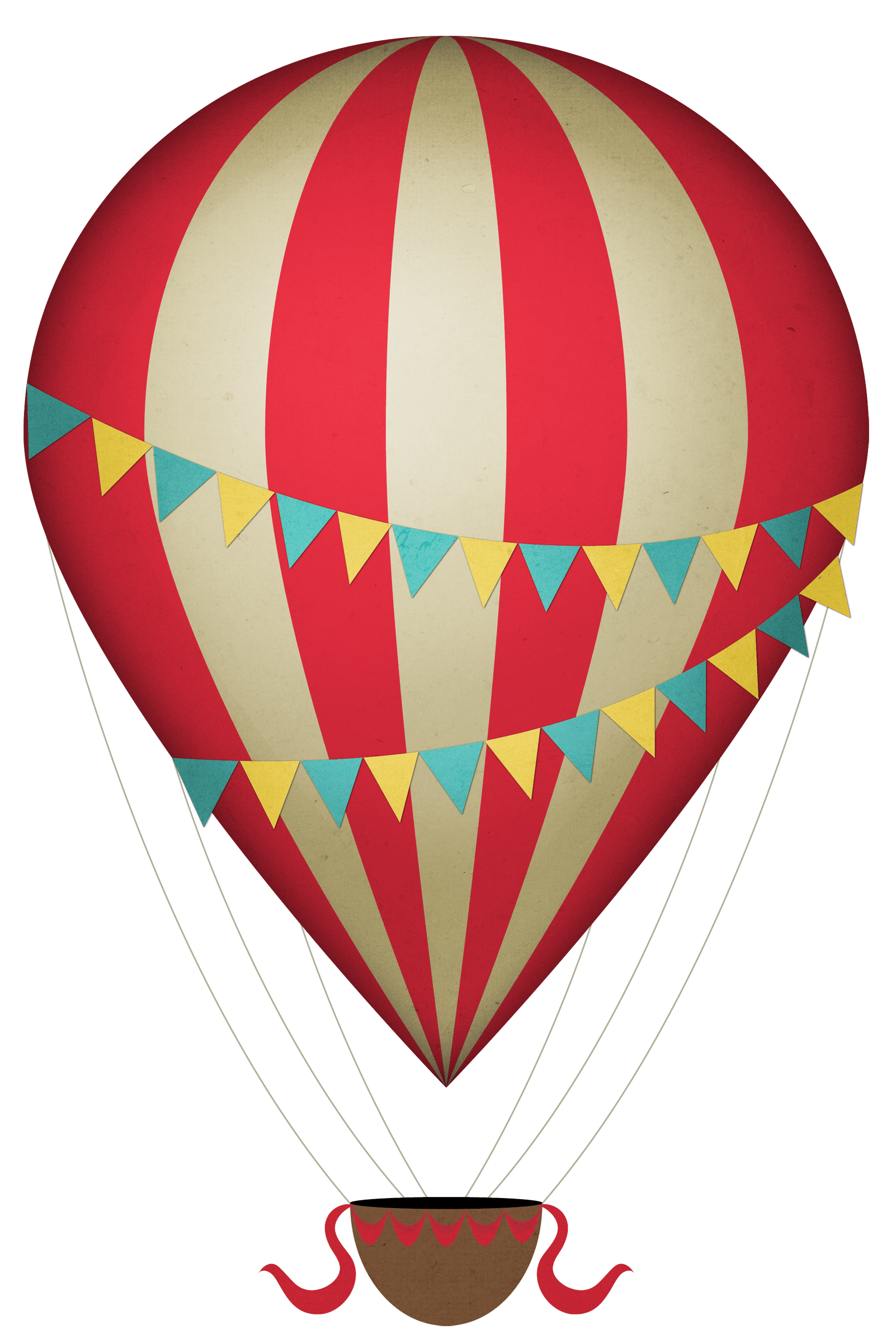 Vintage hot balloon transparent. Gas clipart air ballon