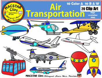 Transportation clip art personal. Air clipart transportations