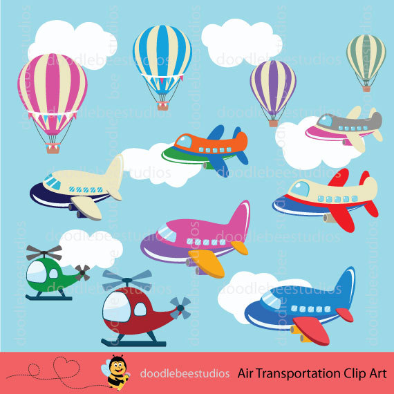 Air clipart transportations. Transportation planes clip art
