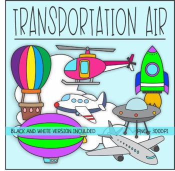 Transportation . Air clipart transportations