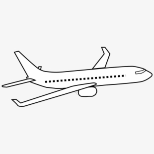 Plane clipart airliner. Aeroplane air airplane aircraft