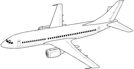 Jet clipart airliner. Free aeroplane cliparts download
