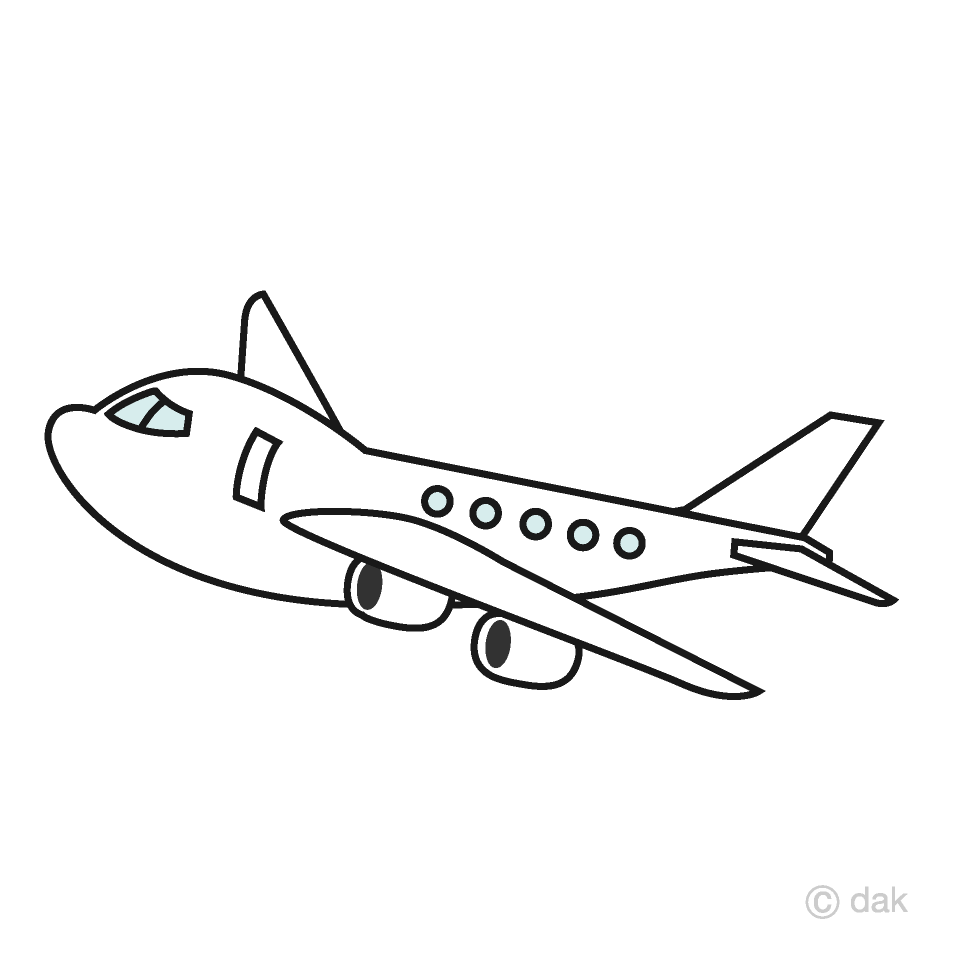 Cute airplane free picture. Plane clipart airliner