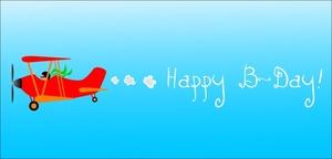 Plane clipart happy birthday. Free skywriting image airplane