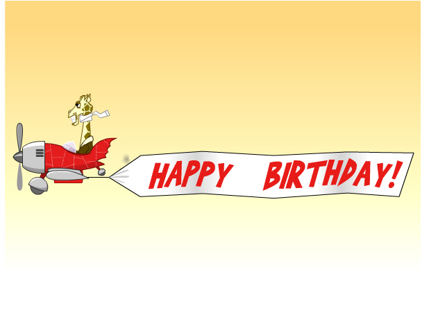 Airplane clipartuse collection. Plane clipart happy birthday