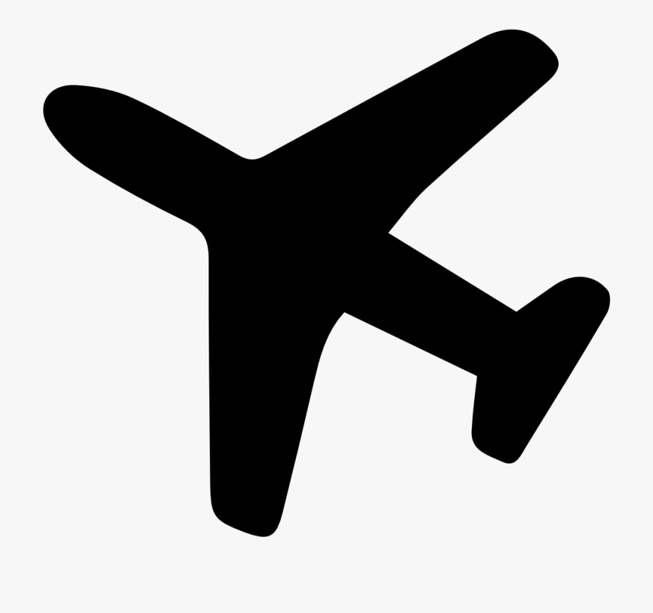 Png airplane icon transparent. Clipart plane sign
