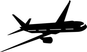 Clipart plane airplane. Free travel image jet